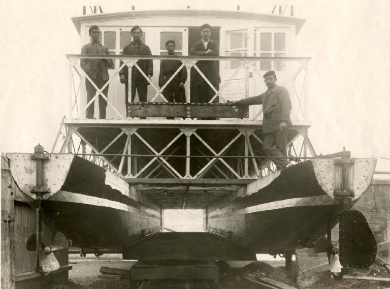 100 años de historia del catamarán y otros inventos del ingeniero Torres Quevedo