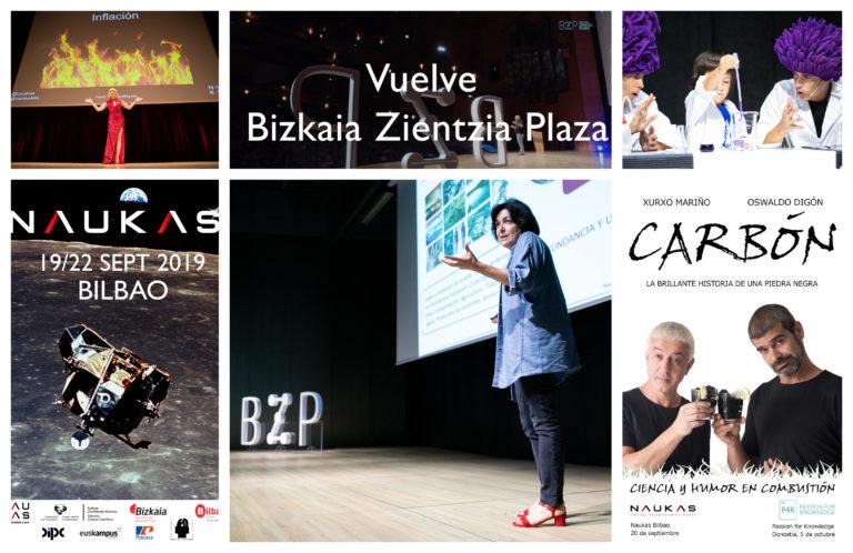 Bizkaia Zientzia Plaza 2019: la gran cita con la ciencia del 18 al 25 de septiembre