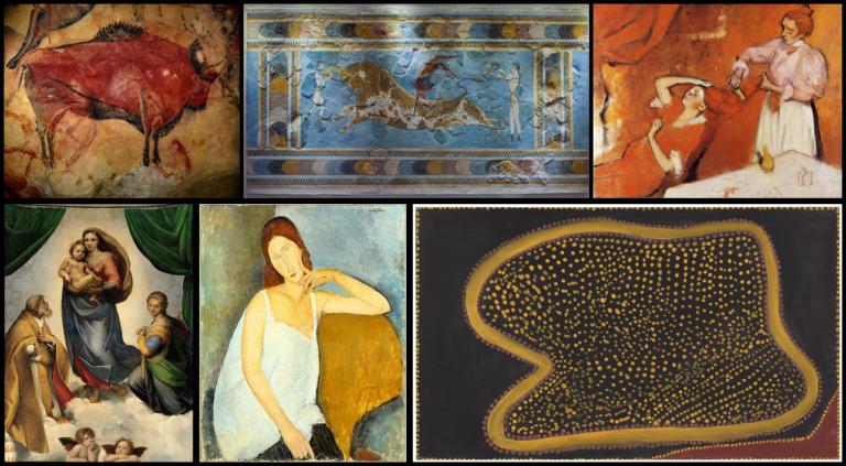 La tabla periódica en el arte: Hierro