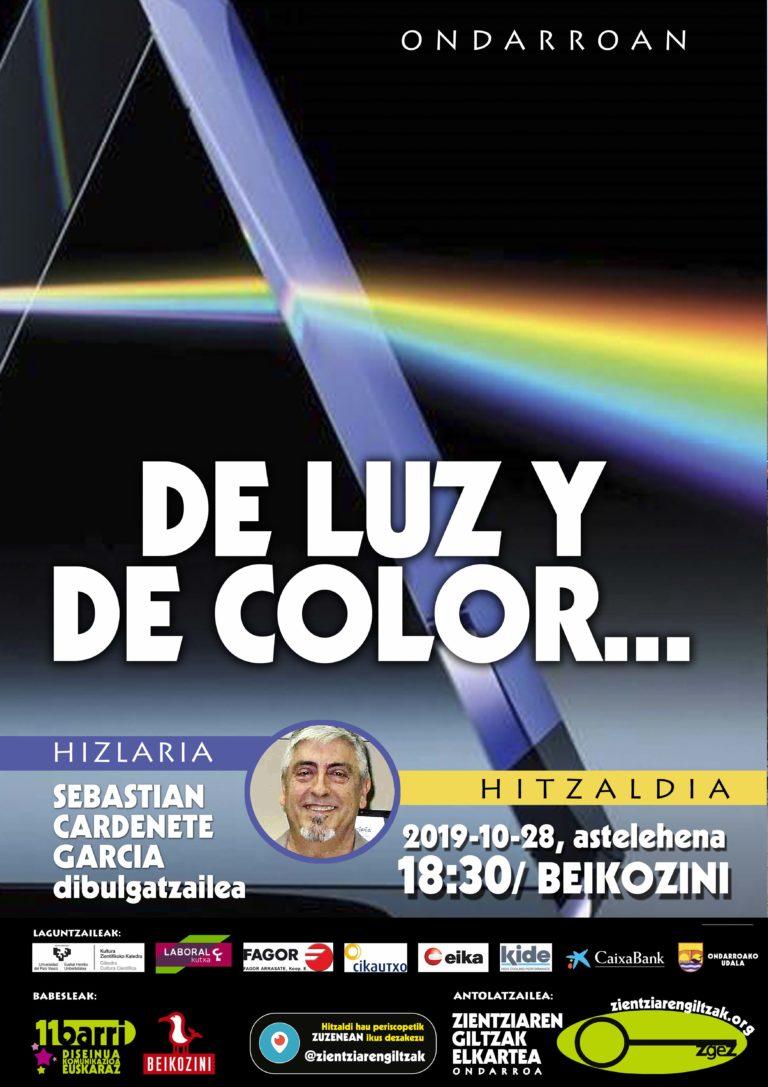 De luz y de color