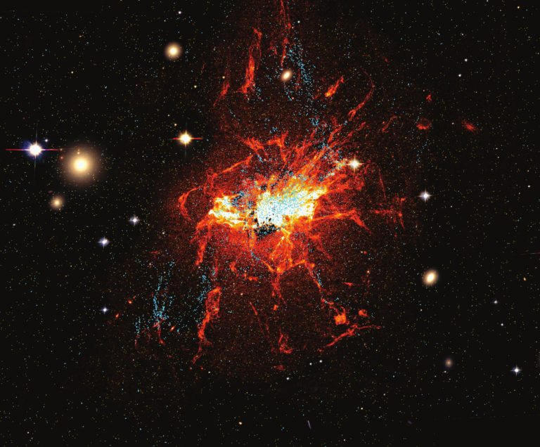 Miles de nuevos cúmulos globulares en los últimos mil millones de años