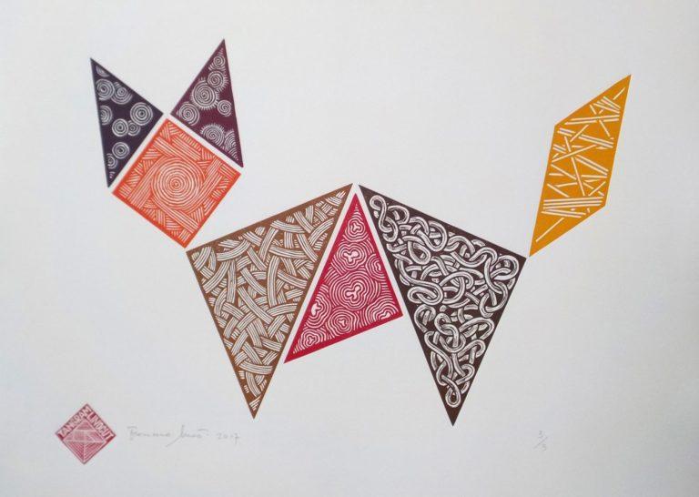 El arte contemporáneo que mira al Tangram
