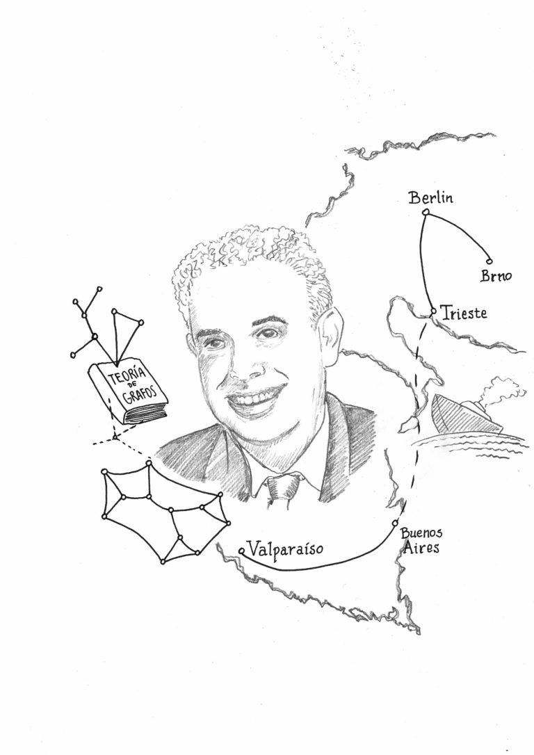 Roberto Frucht, matemático en tránsito