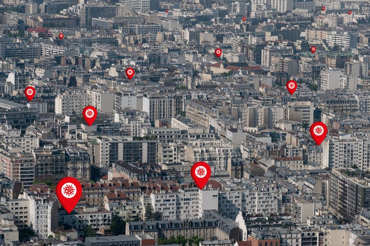 Los retos de geolocalizar a la población española