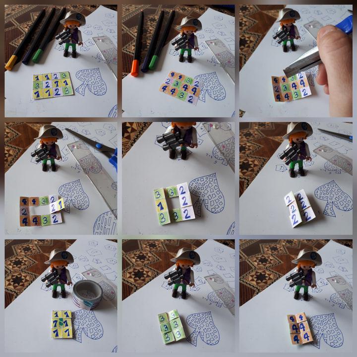 La hoja de papel con cuatro caras, una propuesta de taller