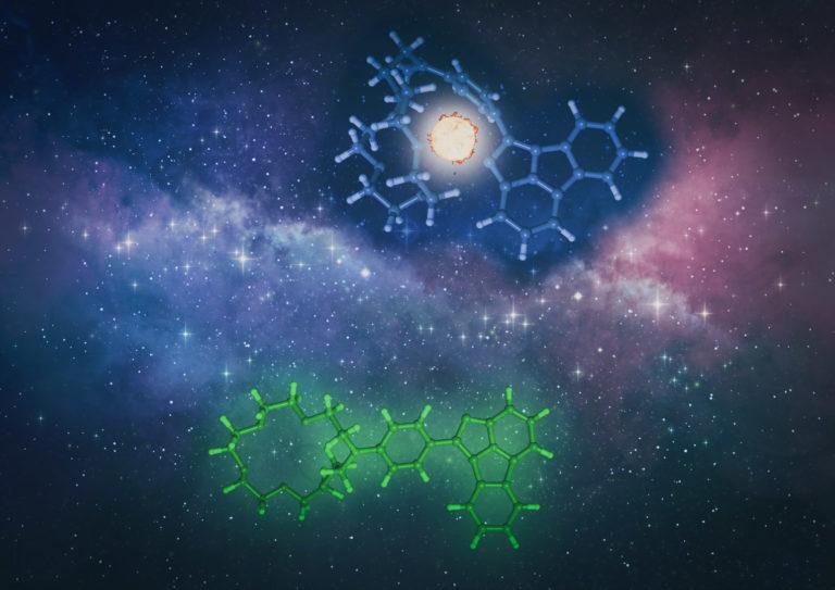 Una molécula fluorescente para explicar la asimetría materia-antimateria en el universo