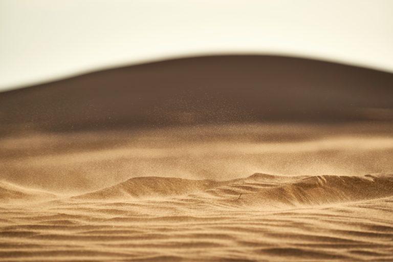 El polvo del Sáhara