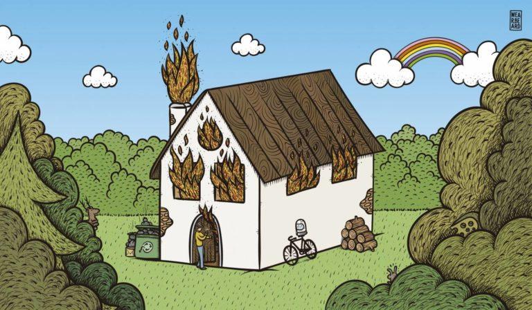 No vas a hacer nada contra la emergencia climática si no ves la casa en llamas