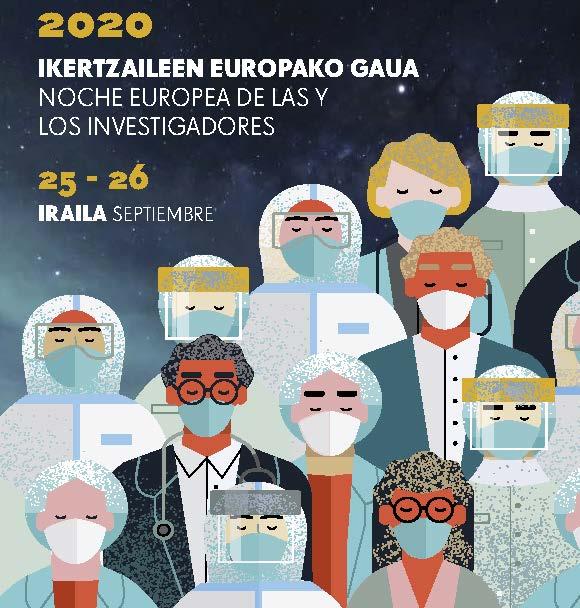 Noche Europea de las y los Investigadores en Bilbao
