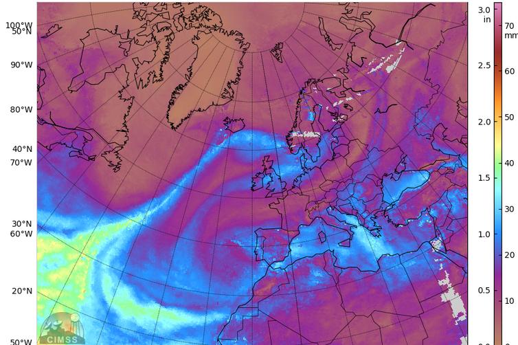 Ríos atmosféricos, las autopistas aéreas que regulan el clima