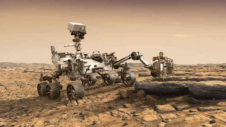 Métodos no destructivos para analizar muestras marcianas