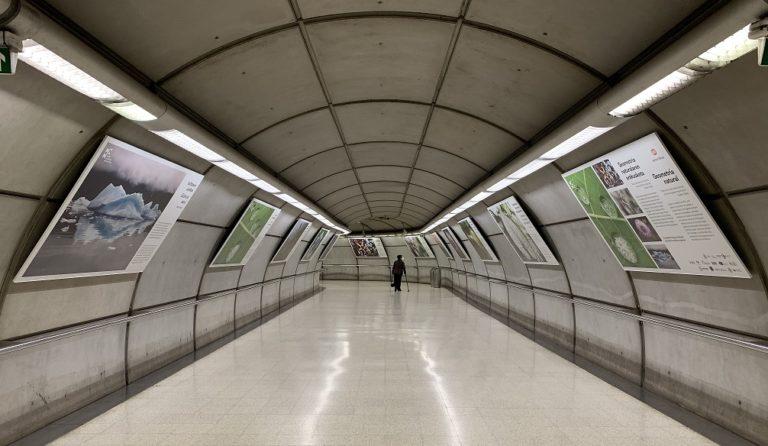 Exposiciones matemáticas en el metro de Bilbao (I)