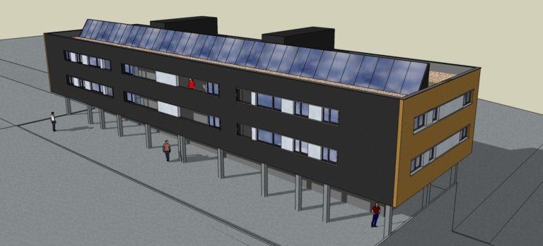 Invernaderos en las cubiertas para aumentar la eficiencia energética de los edificios