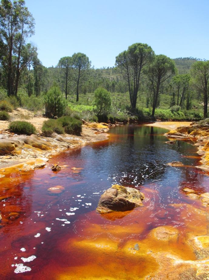 Ríos rojos: el problema ambiental de las aguas ácidas de mina