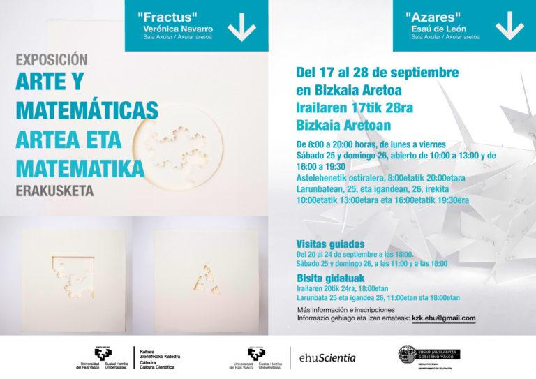 Exposición Arte y Matemáticas: 'Fractus' y 'Azares'