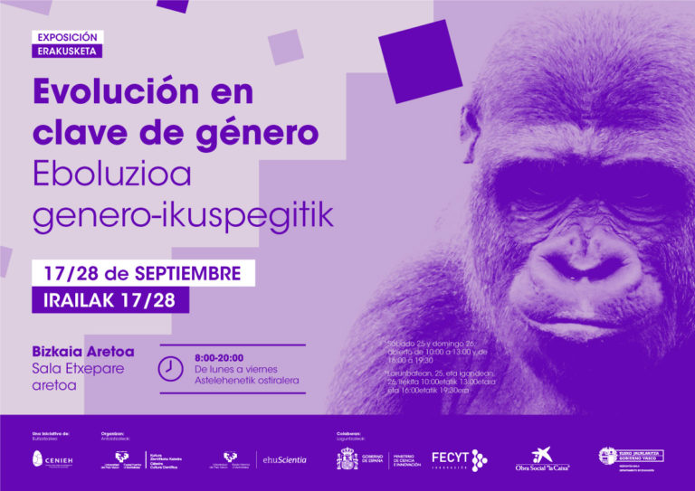 Exposición «Evolución en clave de género»
