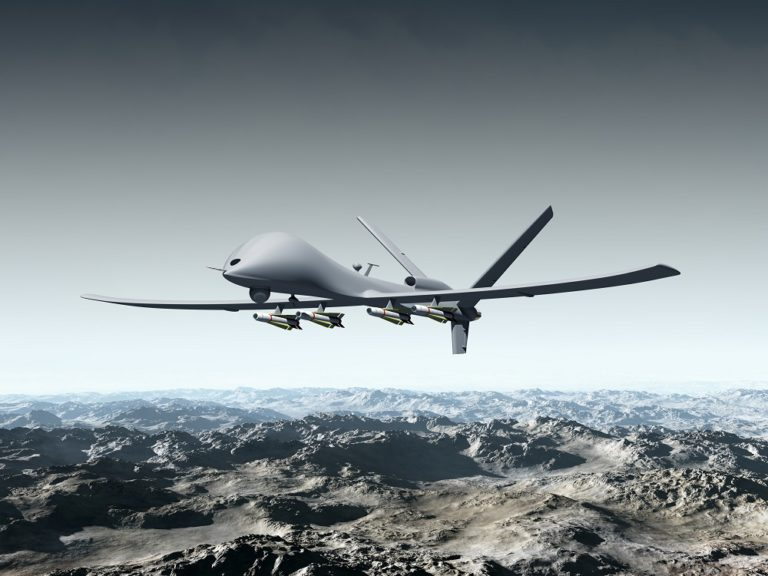 Drones militares y las nuevas reglas de la guerra